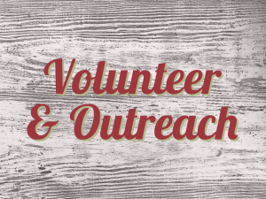 volunteer & outreach