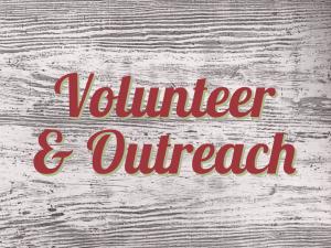 volunteer & outreach